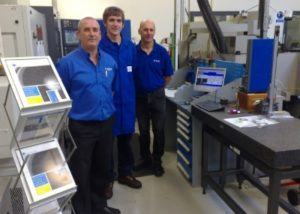 Turbomeca UK team during the implementation of a SPC Vision project