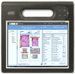 Check'n Go, work instructions software is used in production by Ventana
