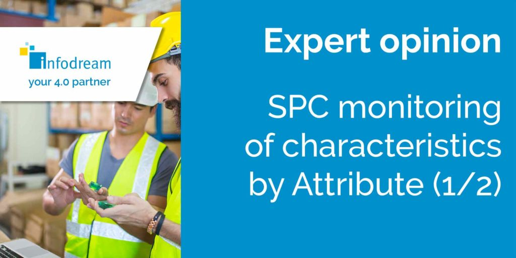 spc monitoring of characteristics by attribute
