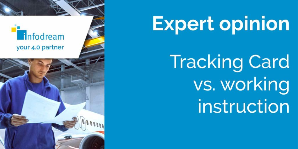 Tracking Card vs. working instruction