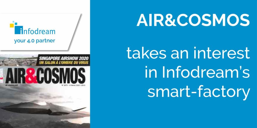 Air&cosmos takes an interest in Infodream's smart-factory