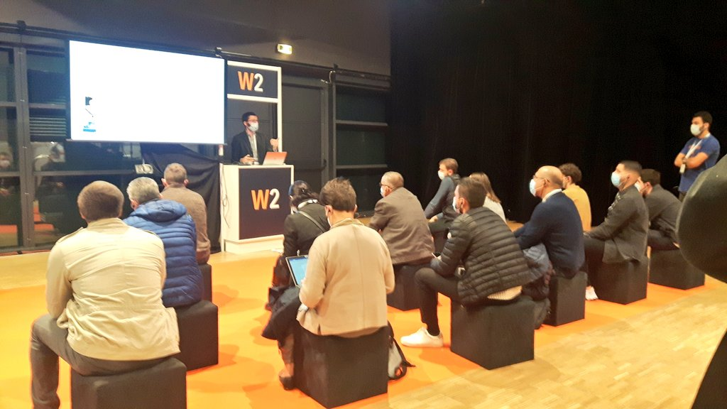 Infodream runs a workshop on the industry of the future at the Progiciels exhibition