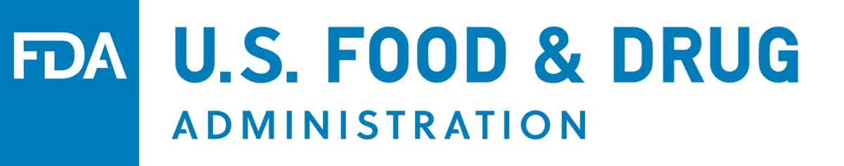 Logo de la FDA (Food and Drug Administration)