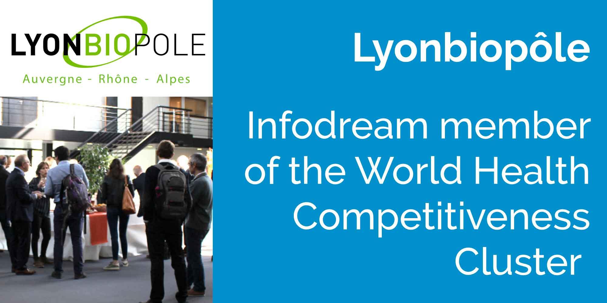 Infodream new member of Lyonbiopôle