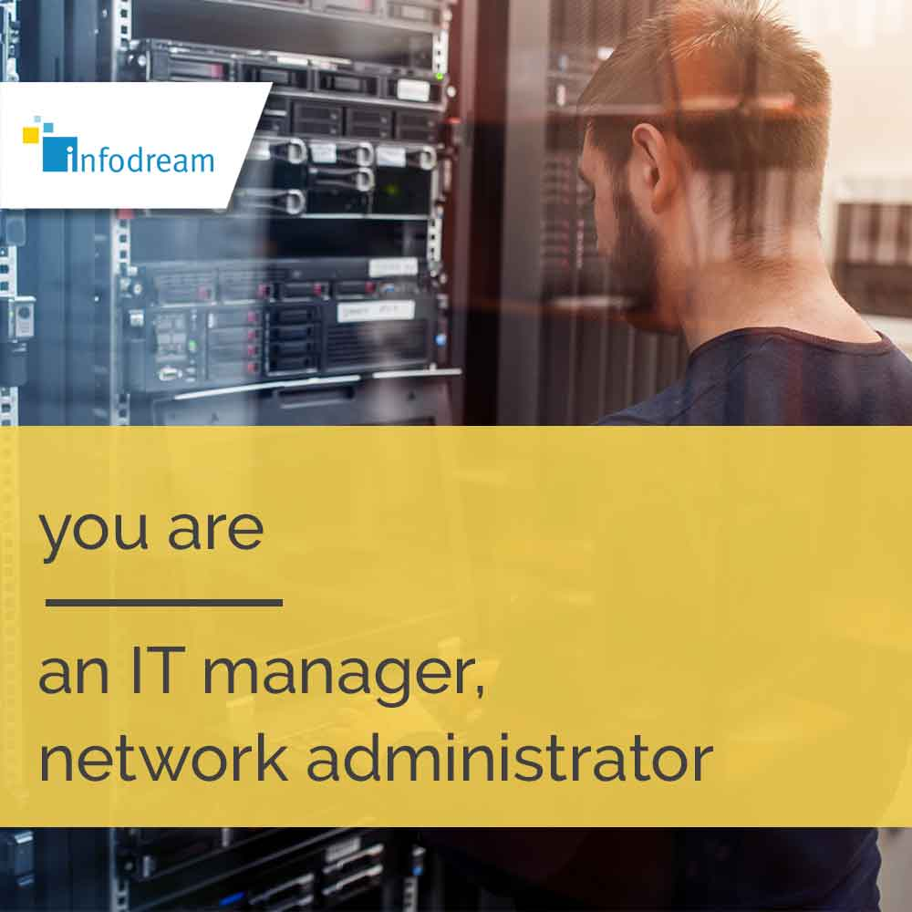 Qualaxy, infodream's MES software for IT managers, network administrators, etc.