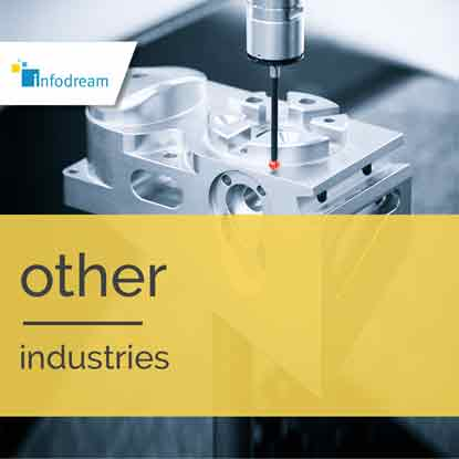 Infodream, your partner for Industry 4.0, expert in industrial process control, is the publisher and integrator of Qualaxy, the Manufacturing Execution System (MES) software suite for industrial excellence. Infodream addresses the challenges and constraints of all industry sectors