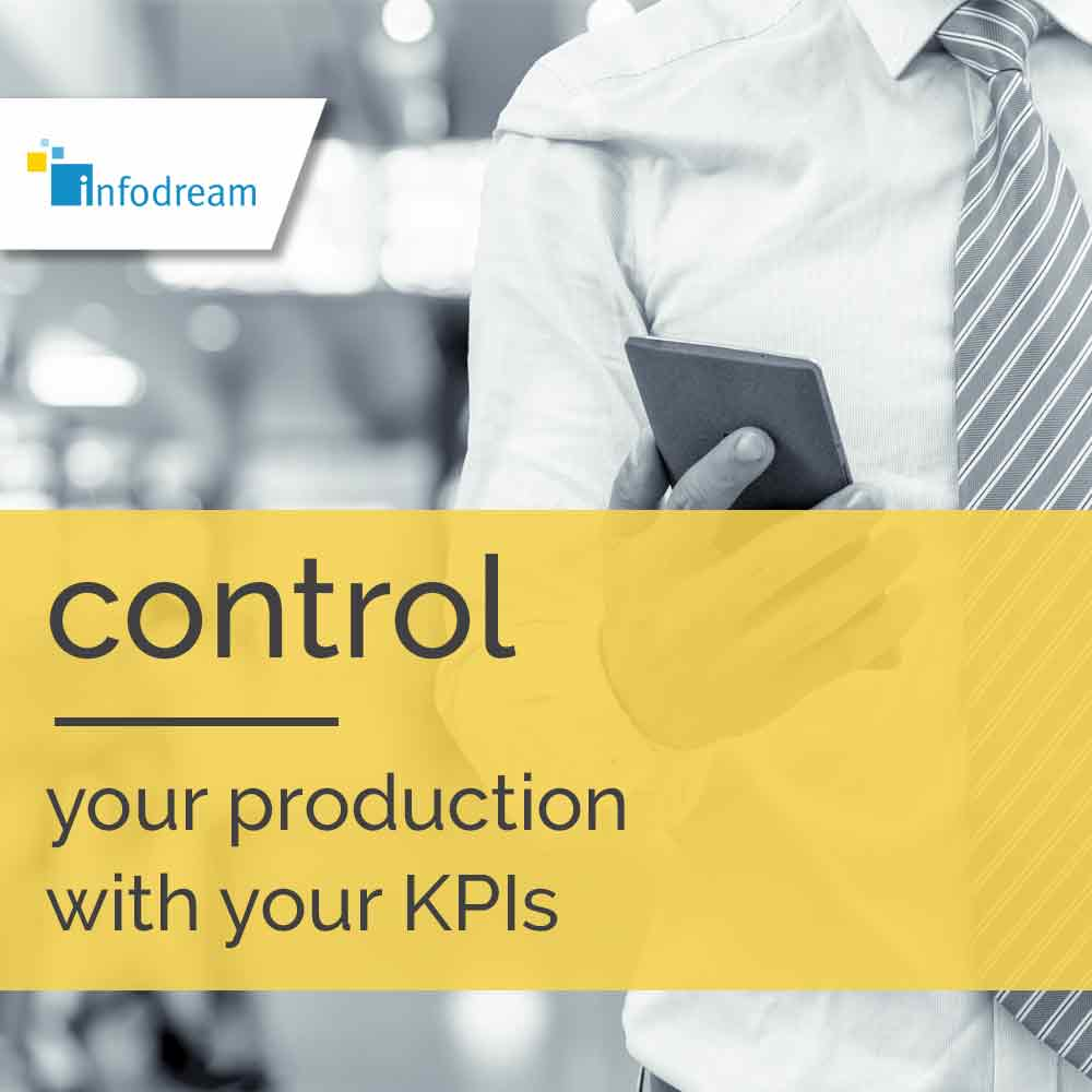 Infodream, an expert in industrial process control and publisher of Qualaxy, the Manufacturing Execution System (MES) software suite for industrial excellence, enables you to control your production with your key KPIs.