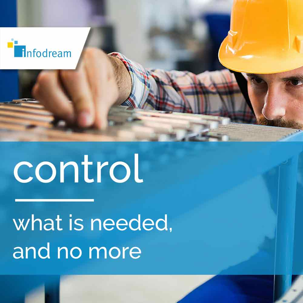 Infodream, an expert in industrial process control and publisher of Qualaxy, the MES (Manufacturing Execution System) software suite for industrial excellence, supports you in your quality control projects.