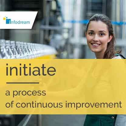 Infodream, an expert in industrial process control and publisher of Qualaxy, the Manufacturing Execution System (MES) software suite for industrial excellence, supports you in your drive for continuous improvement.