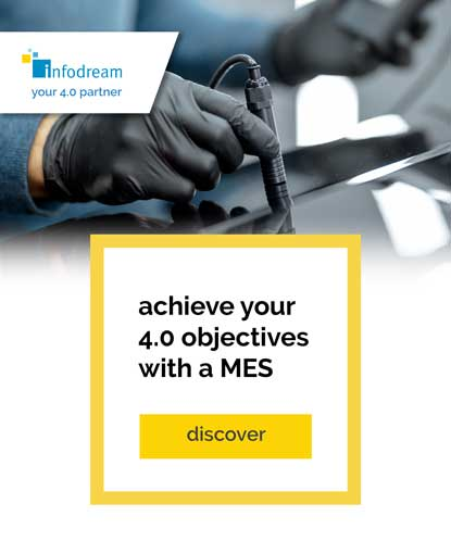 achieve your 4.0 goals with Infodream's MES