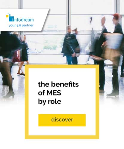 The benefits of Infodream's MES for every industry profession