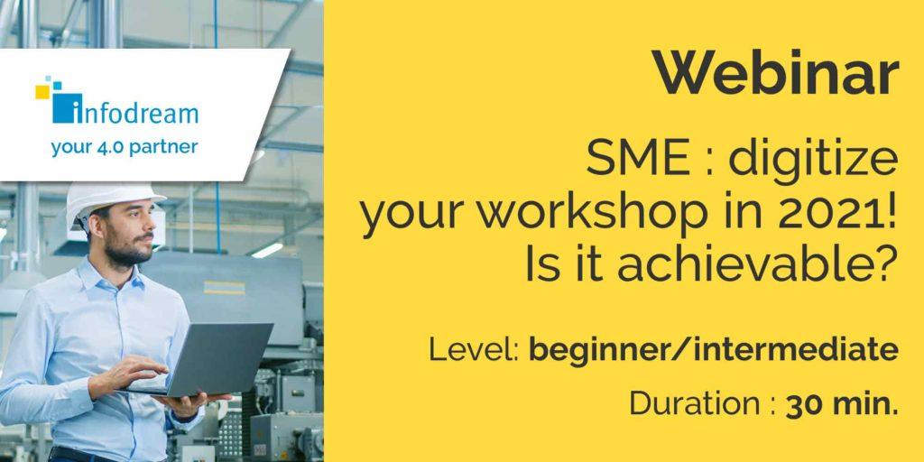 SME: digitize your workshop in 2021