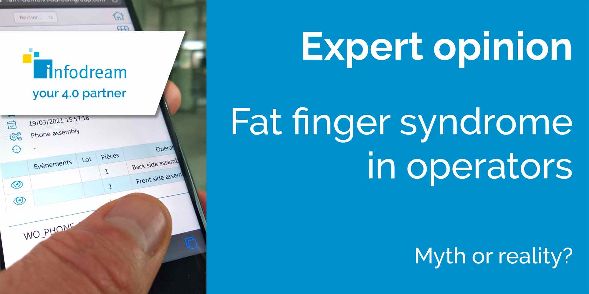 Fat Finger Syndrome In Operators