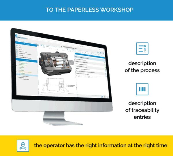 qualaxy process: paperless workshop