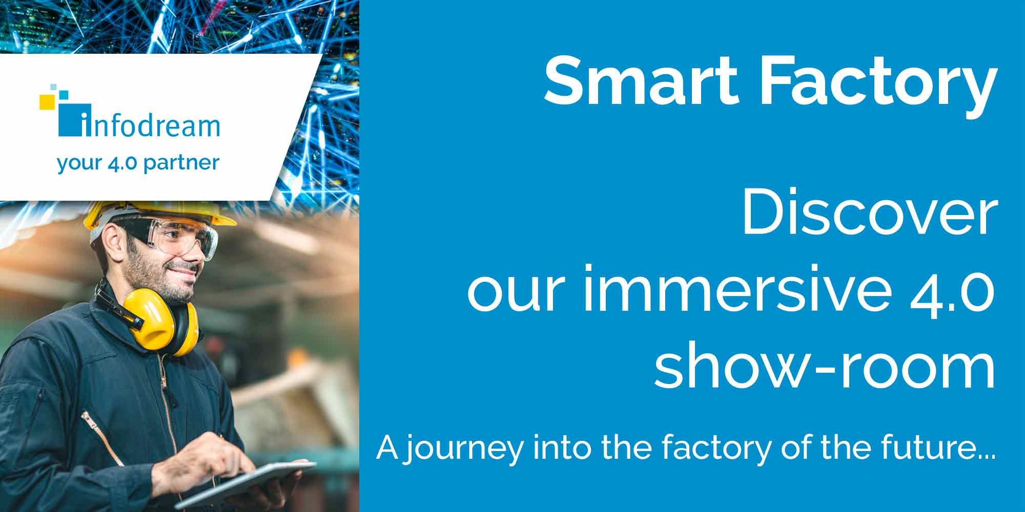 The Infodream Smart Factory Is An Immersive Show Room About Industry 4.0
